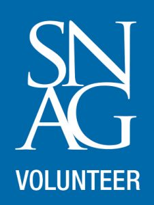 SNAG Volunteer logo
