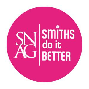 SNAG Smiths 2.5x2.5 Sticker