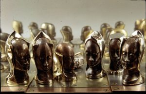 Daniel Frye chess set