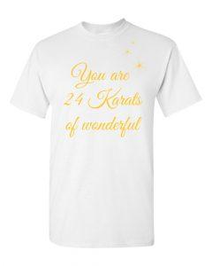Karats T Shirt white